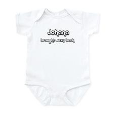 Sexy: Johana Infant Bodysuit