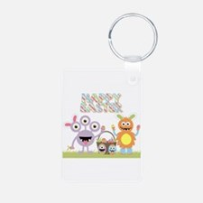 Monster Happy Easter Keychains