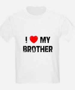 I * My Brother Kids T-Shirt