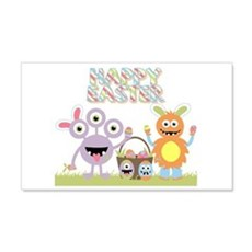 Monster Happy Easter Wall Decal