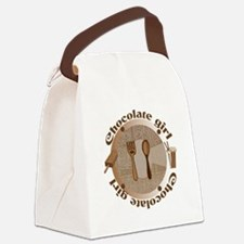 Chocolate girl - Canvas Lunch Bag