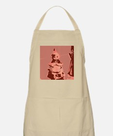Vintage Red Riding Hood Apron