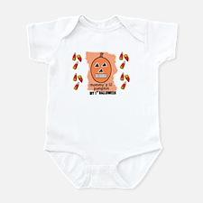 MY FIRST HALLOWEEN  PUMKIN Infant Bodysuit