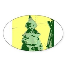 Vintage Red Riding Hood Decal