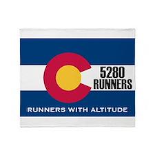 5280 Runners Throw Blanket