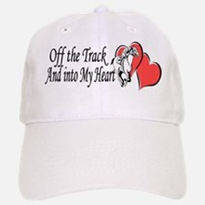 Off The Track and Into My Heart Baseball Baseball Baseball Cap