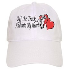 Off The Track and Into My Heart Baseball Baseball Cap