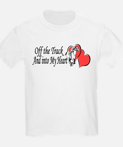Off The Track and Into My Heart T-Shirt