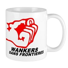 WSF - WANKERS SANS FRONTIERES Small Mug