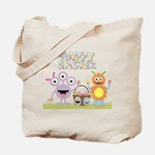 Monster Happy Easter Tote Bag