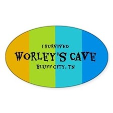 I Survived Worleys Cave Decal