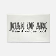 Joan of Arc Rectangle Magnet