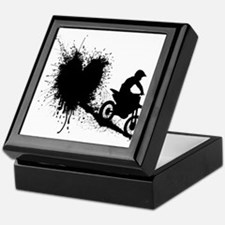 splatter heart Keepsake Box