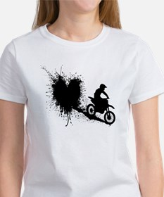 splatter heart T-Shirt