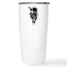 The Astronaut Moon Man Travel Mug