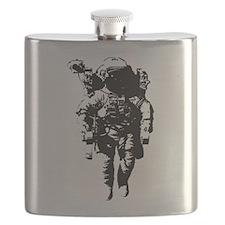 The Astronaut Moon Man Flask