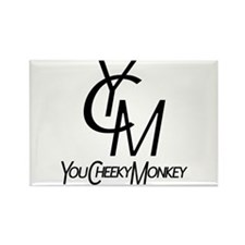 You Cheeky Monkey Rectangle Magnet (100 pack)