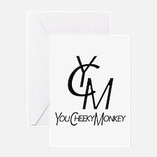You Cheeky Monkey Greeting Card