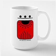 RED Galactic DRAGON Mug
