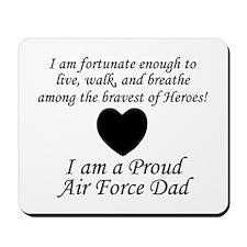Fortunate Proud AF Dad Mousepad