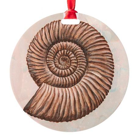 , artwork - Round Ornament (Aluminum)