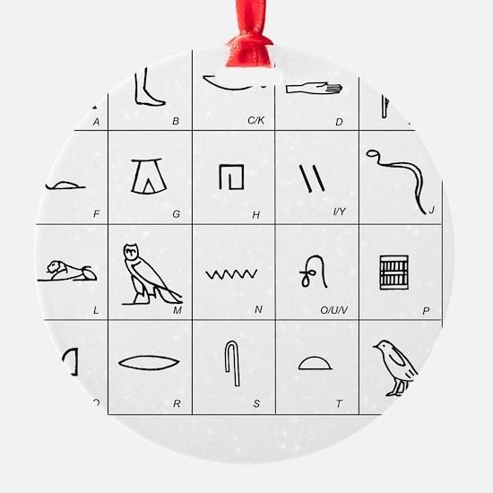 oglyphs - Ornament (Aluminum)
