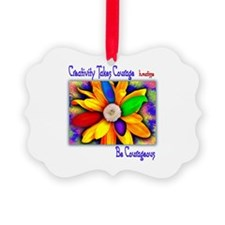 Creativity Flower Ornament