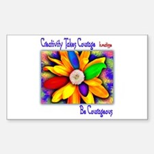 Creativity Flower Decal