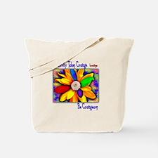 Creativity Flower Tote Bag