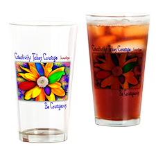 Creativity Flower Drinking Glass