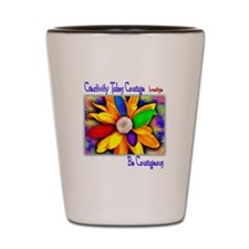 Creativity Flower Shot Glass