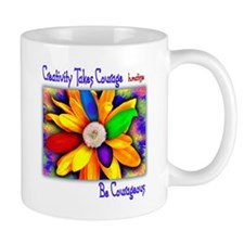 Creativity Flower Mug