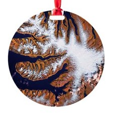 West Fjords, Iceland - Ornament (Aluminum)