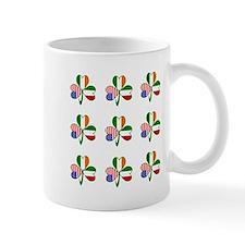 White Italian Shamrocks 9 Mug