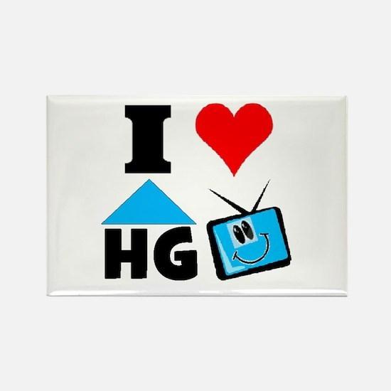 I Love HGTV Rectangle Magnet