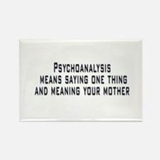 Psychoanalysis Rectangle Magnet