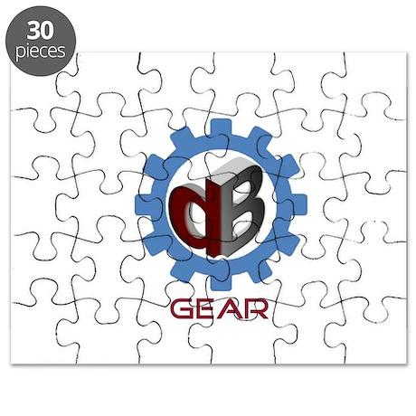 DB Gear Logo Puzzle