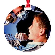 y's mouth - Ornament (Aluminum)