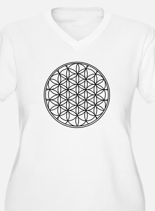 Flower of Life Plus Size T-Shirt