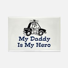 My Daddy Is My Hero (Policeman) Rectangle Magnet