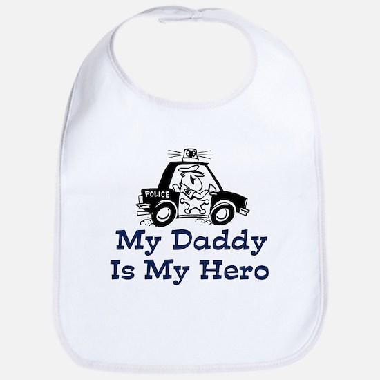 My Daddy Is My Hero (Policeman) Bib