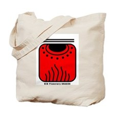 RED Planetary DRAGON Tote Bag