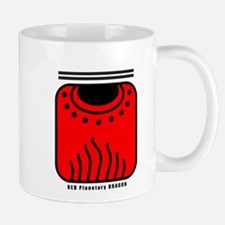 RED Planetary DRAGON Mug