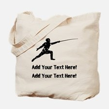 Personalize It, Fencing Tote Bag