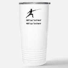 Personalize It, Fencing Travel Mug