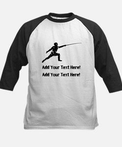 Personalize It, Fencing Baseball Jersey