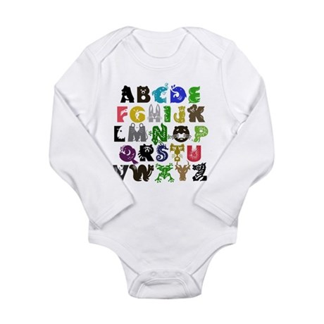 Animal ABCs Infant Creeper Body Suit