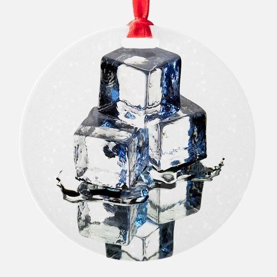 Ice cubes - Ornament (Aluminum)