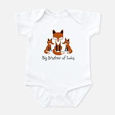Big Brother of Twins - Mod Fox Infant Bodysuit