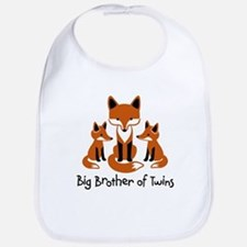 Big Brother of Twins - Mod Fox Bib